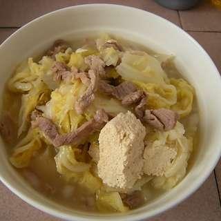 奶汤冻菌白菜苞的做法及介绍---千米饮食网