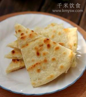 四川特色葱油饼的做法及介绍---千米饮食网