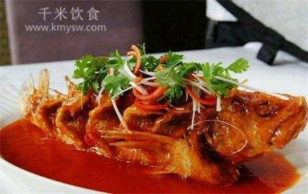 脆皮鱼的做法及介绍---千米饮食网(www.kmysw.com)