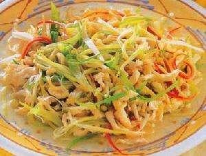 雀菜鸡丝的做法,雀菜鸡丝怎么做好吃?