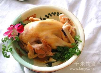 庐山石耳清蒸鸡的做法及介绍---千米饮食网