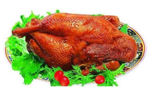 三元烧鸡的做法及介绍---千米饮食网(www.kmysw.com)