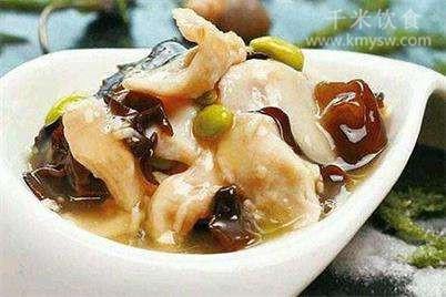 熘鱼片的做法及介绍---千米饮食网(www.kmysw.com)