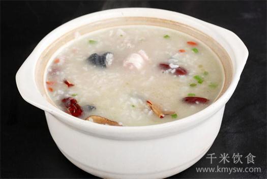 淮阴鸡粥蒲菜的做法