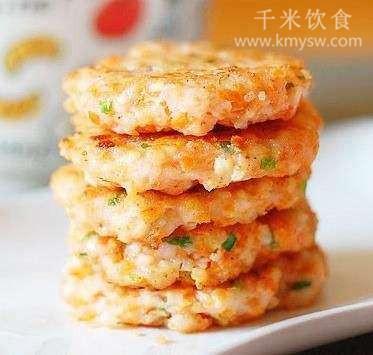 煎烧虾饼的做法及介绍