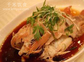 清蒸网油红鲷的做法及介绍