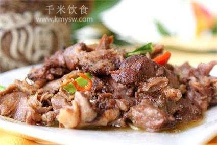 烧辣子百合狍肉的做法及介绍