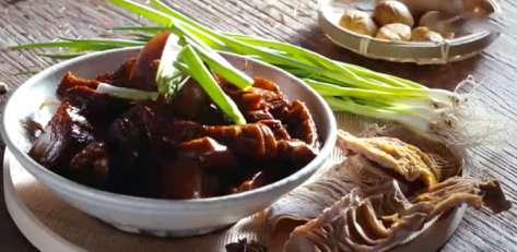 㸆黄丰肉的做法及介绍