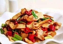 炒肉拌干豆腐的做法及介绍