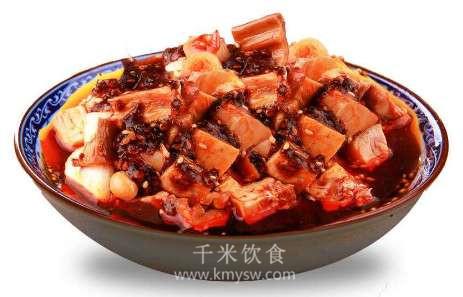 红油兔肉的做法及介绍