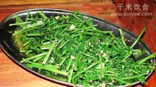芝厥蕨菜的做法及介绍