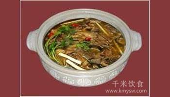 冰城山珍砂锅的做法及介绍