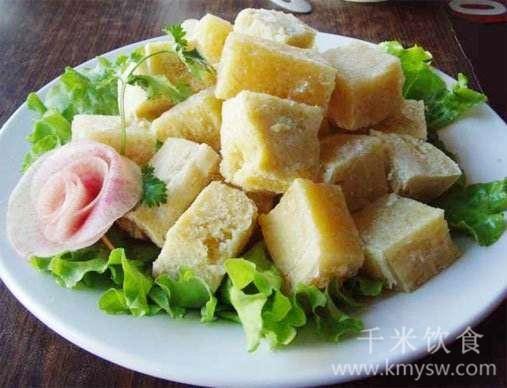 扒冻豆腐的做法及介绍