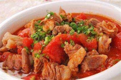 番茄烧牛肉的做法及介绍