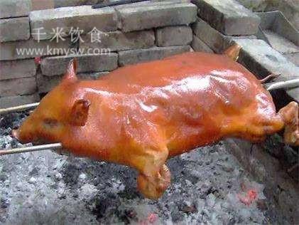 烤小猪的做法及介绍