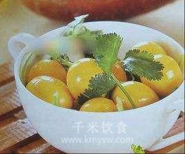 西凤茶鸽蛋的做法及介绍