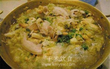 酸菜火锅的做法及介绍---千米饮食网