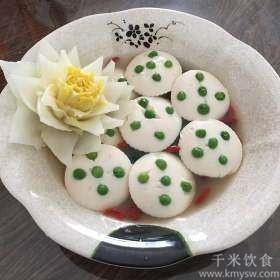 莲蓬豆腐的做法及介绍---千米饮食网
