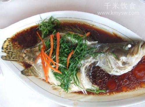 清蒸牡丹鱼的做法及介绍---千米饮食网