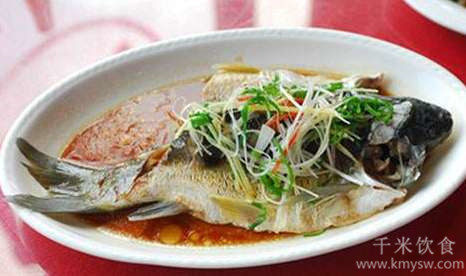 清蒸芙蓉鱼的做法及介绍---千米饮食网