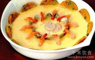 三鲜芙蓉蛋的做法及介绍---千米饮食网