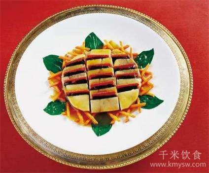 葵花鸭子的做法及介绍---千米饮食网