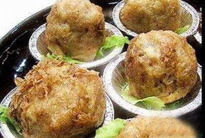 鸡茸虾米丸子的做法及介绍---千米饮食网