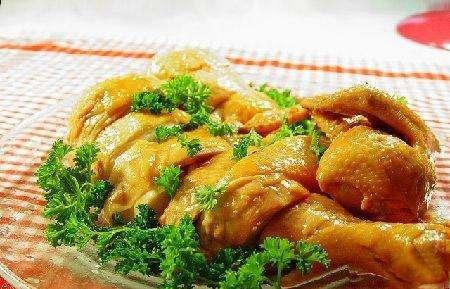 金葱贵妃鸡的做法及介绍---千米饮食网