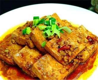 高平烧豆腐的做法及典故介绍---千米饮食网