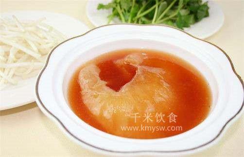 红炖鱼翅的做法及介绍---千米饮食网