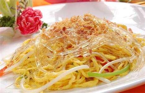 炒桂花鱼翅的做法及介绍---千米饮食网