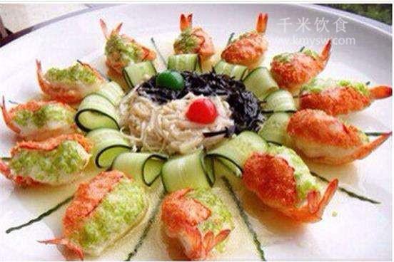 虾胶瓤鱼肚的做法及介绍---千米饮食网