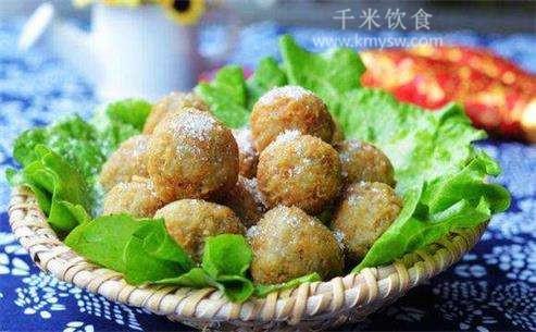 海参酥丸的做法及介绍---千米饮食网