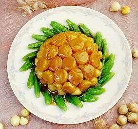 蒜子瑶柱脯的做法及介绍---千米饮食网