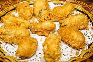 酥炸生蚝的做法及介绍---千米饮食网
