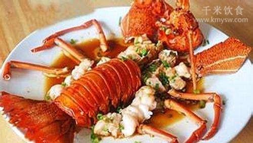 生炊龙虾的做法及介绍---千米饮食网