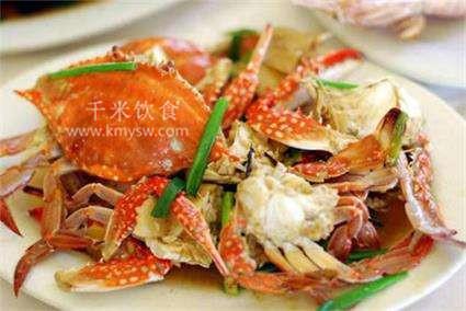 姜葱炒蟹的做法及介绍---千米饮食网