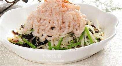 五彩虾丝的做法及介绍---千米饮食网