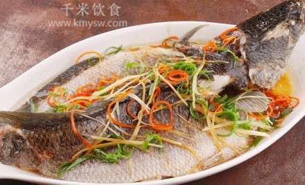 豉油皇蒸生鱼的做法及介绍---千米饮食网