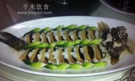 生炊麒麟鱼的做法及介绍---千米饮食网