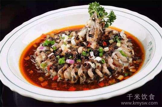 豉汁蟠龙鳝的做法及介绍---千米饮食网