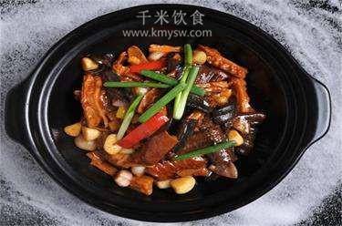 火腩焖大鳝的做法及介绍---千米饮食网