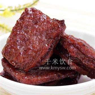 果汁煎肉脯的做法及介绍---千米饮食网