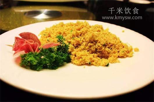 桂花干贝的做法及介绍---千米饮食网(www.kmysw.com)