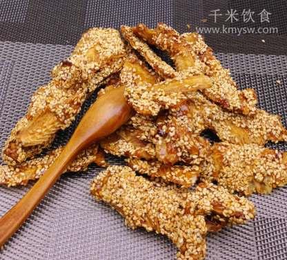 芝麻鱼排的做法及介绍---千米饮食网(www.kmysw.com)