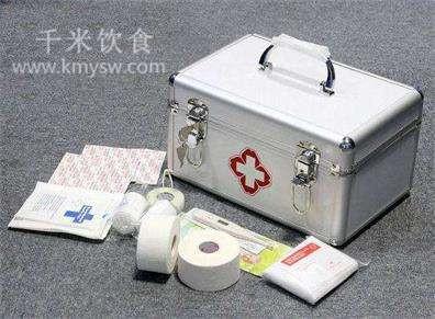 家庭急救包必备的14件物品---千米饮食网