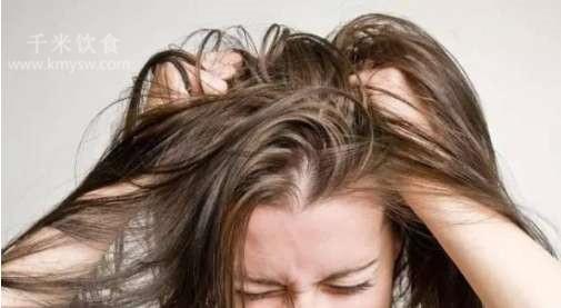 夏季去除头发油腻的六个小妙招---千米饮食网