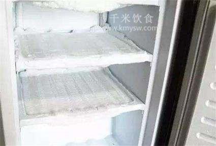 冰箱如何除冰?---千米饮食网