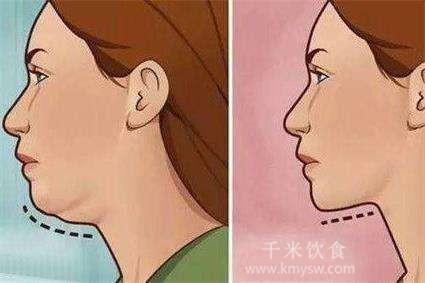明明不胖为什么会有双下巴---千米饮食网
