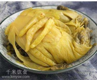 诸葛孔明美赞新繁泡菜的典故---千米饮食网